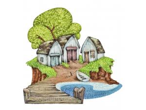 'Island Fishing Sheds'