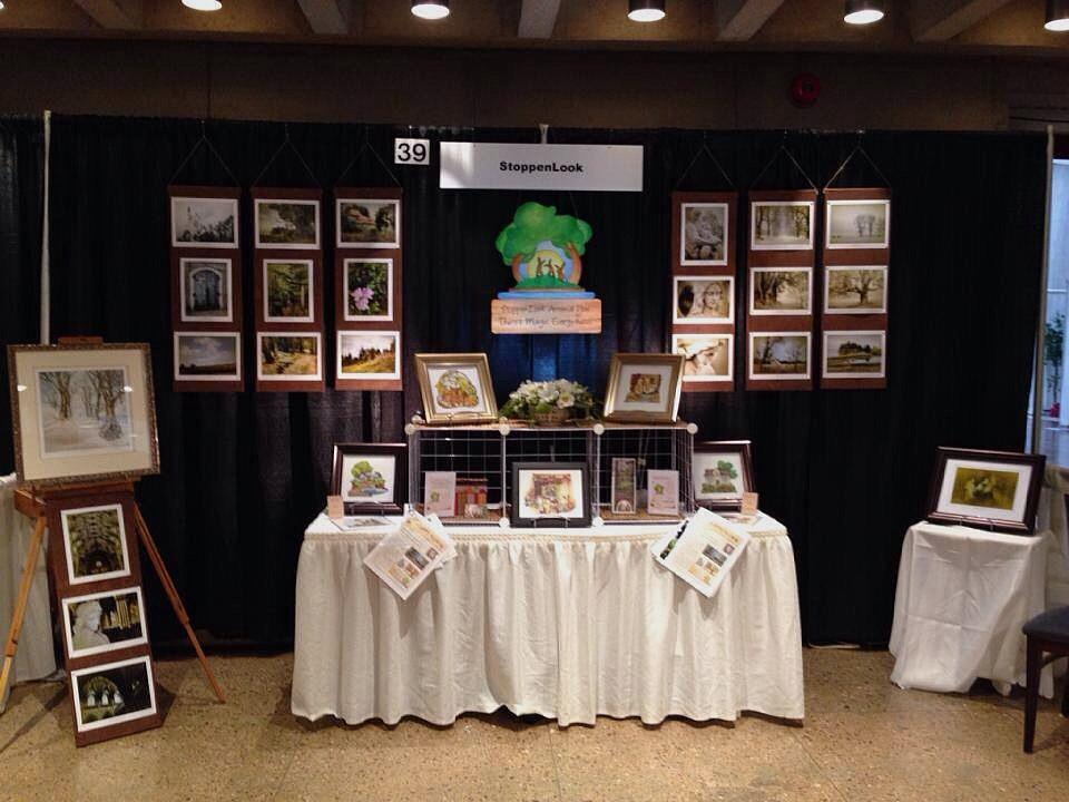 StoppenLook's Booth - 2014 Annual PEI Buyer's Market
